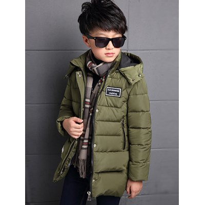 Kids Hooded Quilted JacketBoys Clothing<br>Kids Hooded Quilted Jacket<br><br>Clothes Type: Padded<br>Material: Polyester<br>Collar: Hooded<br>Clothing Length: Long<br>Style: Fashion<br>Sleeve Length: Long Sleeves<br>Season: Winter<br>Weight: 0.814kg<br>Package Contents: 1 x Padded Coat