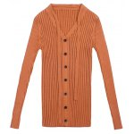 best Pullover Buttoned Tied-Up Knitwear