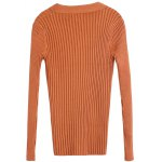 Pullover Buttoned Tied-Up Knitwear photo