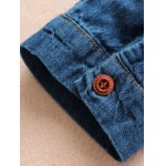 Maple Embroidered Denim Shirt With Pockets deal