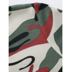 Hooded Camouflage Zip-Up Hoodie for sale