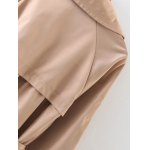 Double-Breasted Belted Maxi Trench Coat deal