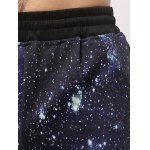 3D Starry Sky Print Jogger Pants for sale