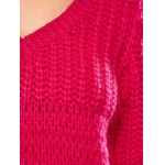 best Balloon Sleeve Crochet Chunky Sweater