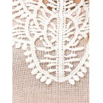 Lace Patchwork Pullover photo