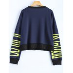 Letter Graphic Sweatshirt deal