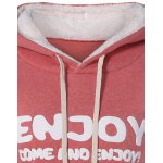 Thick Letter Pocket Hoodie deal