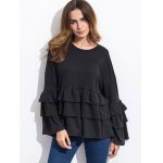 Long Sleeve Tiered Blouse deal