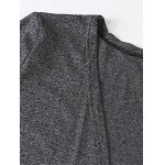 Heathered Plus Size Cardigan With Pockets deal