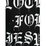 best Chain Embellished Letter Print with Pocket Hoodie