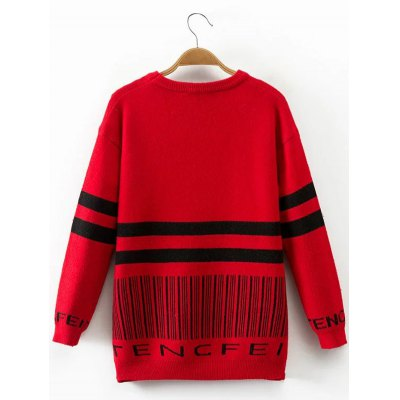 Long Sleeve Stripe SweaterSweaters &amp; Cardigans<br>Long Sleeve Stripe Sweater<br><br>Type: Pullovers<br>Material: Polyester<br>Sleeve Length: Full<br>Collar: Crew Neck<br>Style: Casual<br>Pattern Type: Striped<br>Season: Fall,Spring<br>Weight: 0.400kg<br>Package Contents: 1 x Sweater