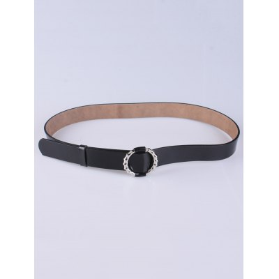 Trousers Wear Hollow Round Buckle Belt