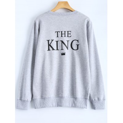The King Graphic Sweatshirt