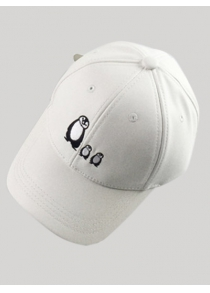 Casual Sunscreen Penguin Embroidery Baseball Hat