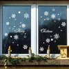 best Snowflake Merry Christmas Decorative Wall Decals Removable
