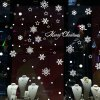 Snowflake Merry Christmas Decorative Wall Decals Removable photo