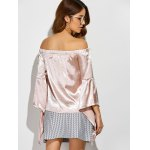 best Off The Shoulder Asymmetrical Blouse