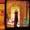cheap Wholesale Merry Christmas Shopwindow Removable Wall Stickers