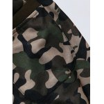 best Plus Size Camouflage Beam Feet Jogger Pants