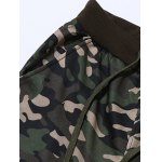 Plus Size Camouflage Beam Feet Jogger Pants deal