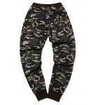 cheap Plus Size Camouflage Beam Feet Jogger Pants