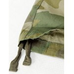 Drawstring Cuff Multi Pockets Camo Cargo Pants for sale