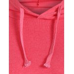 String Asymmetric Hoodie for sale
