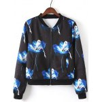 Elf Print Bomber Jacket