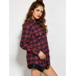 Plaid Tiger Embroidered Shirt deal