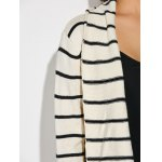 best Striped Loose Cardigan