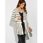 cheap Striped Loose Cardigan