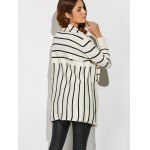 Striped Loose Cardigan for sale
