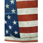 Front Pocket American Flag Print Outerwear Hoodie photo