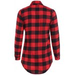cheap Fitted Scottish Checked Shirt