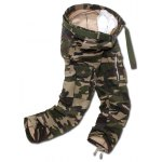 Buy Camo Multi Pockets Zippered Cargo Pants 40 ARMY GREEN CAMOUFLAGE