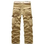 cheap Multi Pockets Zippered Cargo Pants