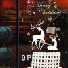 Christmas Reindeer Removable Wall Stencils for sale