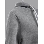 Two Tone Plus Size Jumper Hoodie for sale