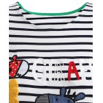 Cute Print Striped T-Shirt deal