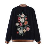 cheap Velvet Embroidery Souvenir jacket