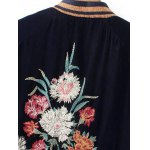 Velvet Embroidery Souvenir jacket deal