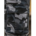 best Multi Pockets Design Straight Camouflage Cargo Pants