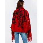 Tassels Cashmere Cape Cardigan for sale