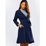 cheap Skirted Trench Coat