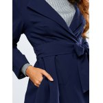 Skirted Trench Coat for sale