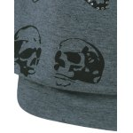 best Rhinestoned Skull Pattern Sweatshirt