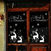 Christmas Reindeer Removable Wall Stencils photo