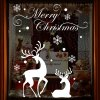 cheap Christmas Reindeer Removable Wall Stencils