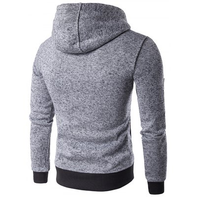 Hooded Oblique Zip-Up Edging Design HoodieMens Hoodies &amp; Sweatshirts<br>Hooded Oblique Zip-Up Edging Design Hoodie<br><br>Material: Cotton,Polyester<br>Clothing Length: Regular<br>Sleeve Length: Full<br>Style: Fashion<br>Weight: 0.650kg<br>Package Contents: 1 x Hoodie