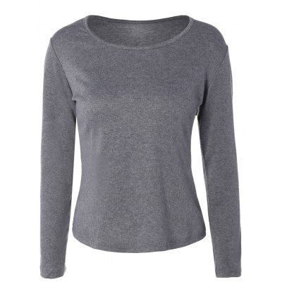 Casual Plus Size Long Sleeve T-Shirt